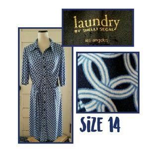 Laundry By Shelli Segal Los Angeles Dress
